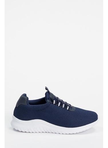 Defacto –Fit Bağcıklı Aktif Spor Ayakkabı Lacivert